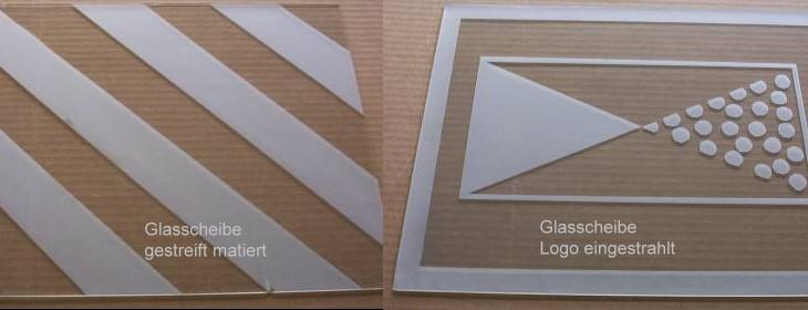 glas sandstrahlen und mattieren von spiegel und glasfl chen arbeiten schriftz ge embleme und. Black Bedroom Furniture Sets. Home Design Ideas
